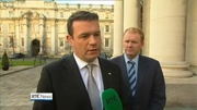 Nine News Web: Alan Kelly condemns blockade of Carrickmines site