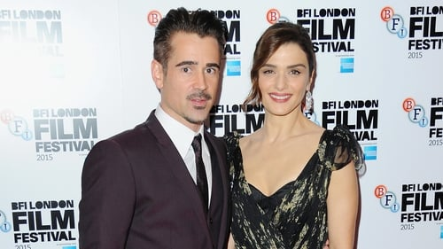 Farrell and Weisz at The Lobster's UK premiere on Tuesday night
