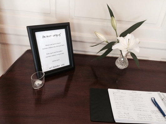 Book of Condolence at the Mansion House