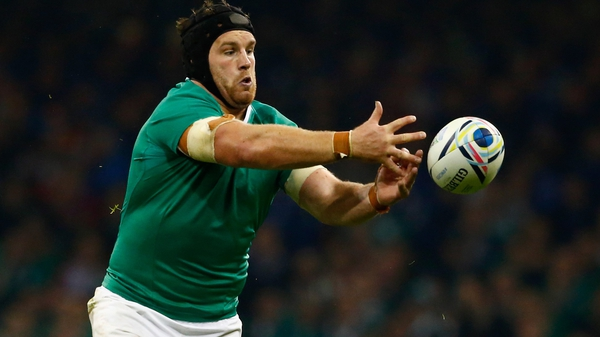 Sean O'Brien could win his 42nd Ireland cap on Sunday