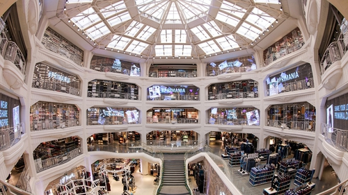 The former Almacenes Madrid-Paris opened in 1924 with the aim of bringing the French 'grands magasins' to Spain