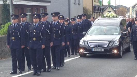 State Funeral of Garda Tony Golden