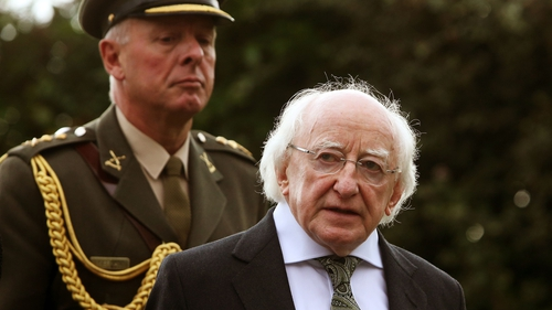 President Michael D Higgins will lead the key wreath laying ceremony outside the GPO on Easter Sunday