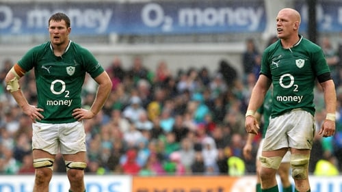 Donnacha Ryan was unsurprisingly glowing in his praise of the now-retired Paul O'Connell