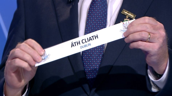 The GAA Championship draw for 2016 was made live on RTÉ2