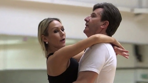 O'Donnell and Rihanoff will take to the floor to Sinatra's Fly Me to the Moon this weekend Photos: BBC