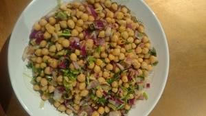 Lina Gautam's Chana Chatpat (Chickpea Chatpat)