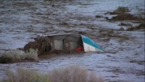 The floods were triggered by several inches of rainfall in an hour