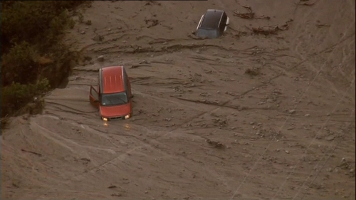 Drivers were caught off guard by the flash floods
