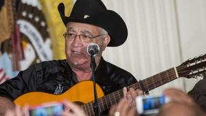 Eliades Ochoa from the Orquesta Buena Vista Social Club perfroms at the White House