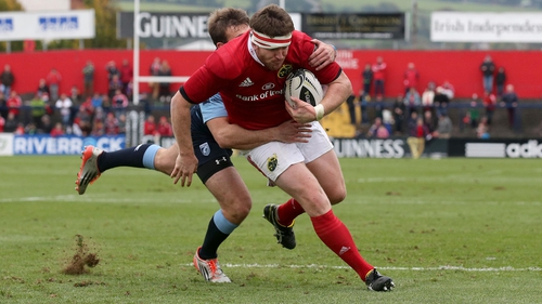 Mike Sherry returns for Munster