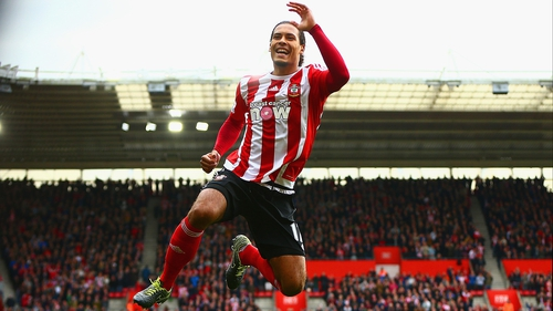 Virgil van Dijk will not be leaving St Marys this summer according to their executive director