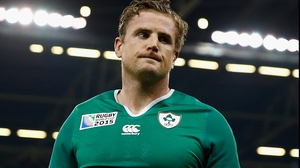 Jamie Heaslip won 95 caps for Ireland