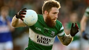 Aussie Rules player Zach Tuohy was among the Portlaoise scorers