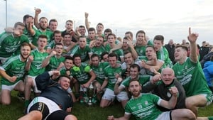 Cargin players celebrate a first county success in nine years