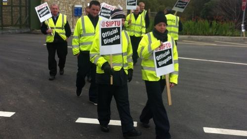 Those involved in the one-day stoppage at the Bellanaboy facilityare all members of SIPTU