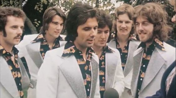 Newly Reformed Miami Showband (1975)