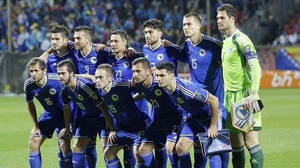 Bosnia finished behind Belgium and Wales in their qualifying group