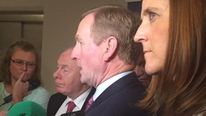 Enda Kenny said the election would be in 'early 2016'