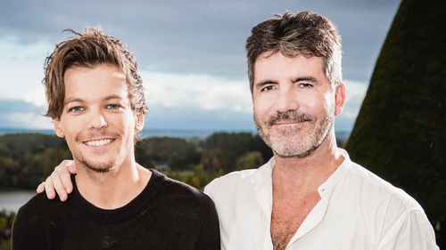 Louis Tomlinson helps Simon Cowell choose who should make it through to the live shows