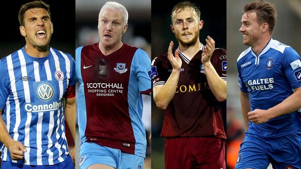 Sligo Rovers, Drogheda United, Galway United and Limerick are battling against relegation