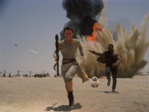 The Force Awakens picks up from the Return of the Jedi