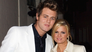 Brian McFadden and Kerry Katona at the Meteor Awards in 2004
