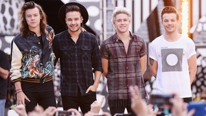 One Direction's Harry Styles, Liam Payne, Niall Horan and Louis Tomlinson