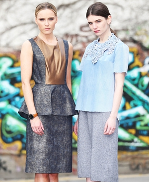 Designs by Irish designer Emma Manley