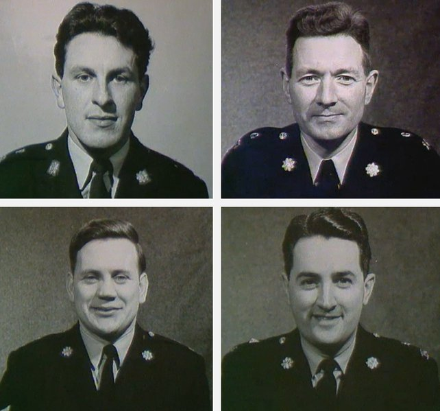 Garda Patrol - Seamus McPhillips, Vincent Smith, Edward Russell, and Terry Brady
