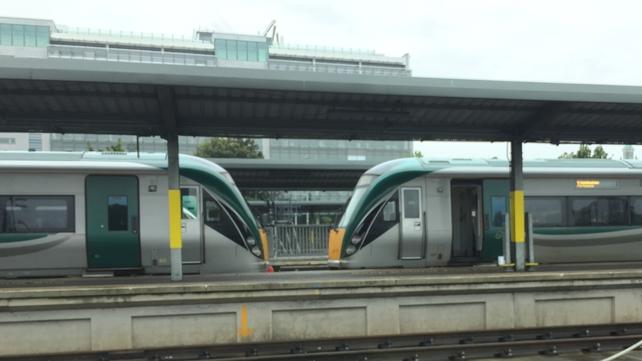 Iarnród Éireann management has been informed of the pay claim