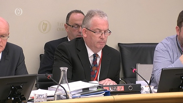 Tony O'Brien said he had received a copy of some correspondence from the PAC