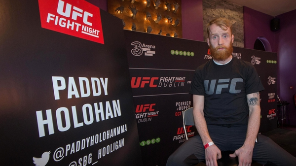 Paddy Holohan at the 3Arena