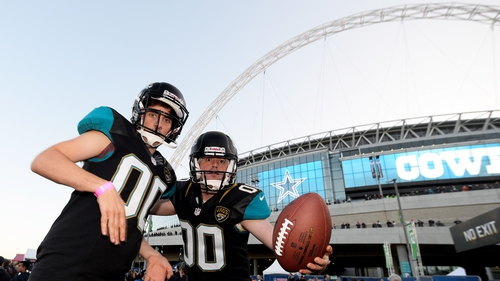 The Jacksonville Jaguars have played once a year at Wembley Stadium since 2013