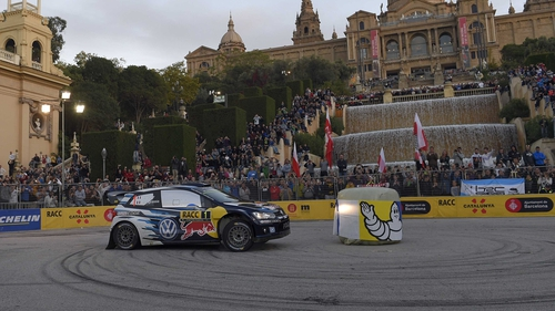 Sebastien Ogier is bidding for a hat-trick of wins at the Rally RACC Catalunya-Costa Daurada