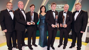 The winners of last night's EY Entrepreneur of the Year awards