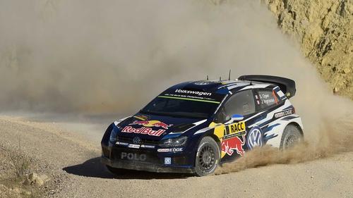 Sebastien Ogier tops the time sheets in Spain