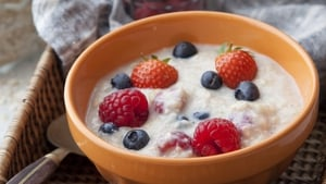 Ginger and Berry Porridge