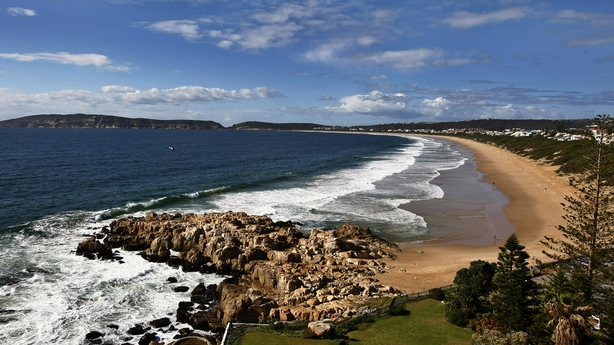 Plettenberg Bay where the couple went swimming