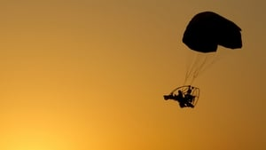 A 23 year old man allegedly paraglided into Syria