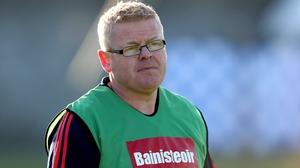 Rathnew manager Declan Byrne