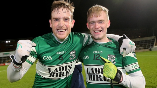 Portlaoise's Kieran Lillis and Conor Dunphy