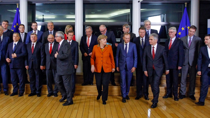 Leaders agree new plan for migrant crisis
