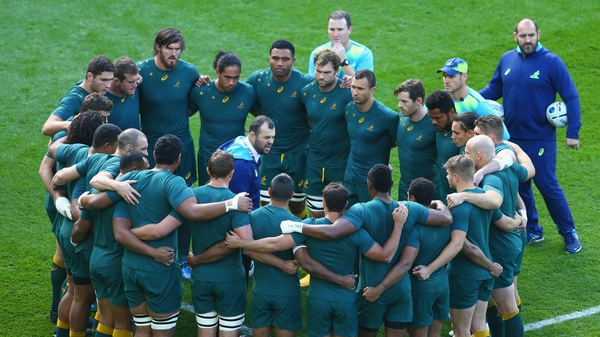 Australia are aiming to win a third Rugby World Cup
