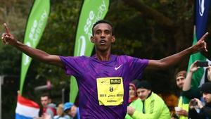 Ethiopia's Alemu Gemechu took the main prize