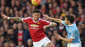 It had looked as if Rojo might leave United over the summer