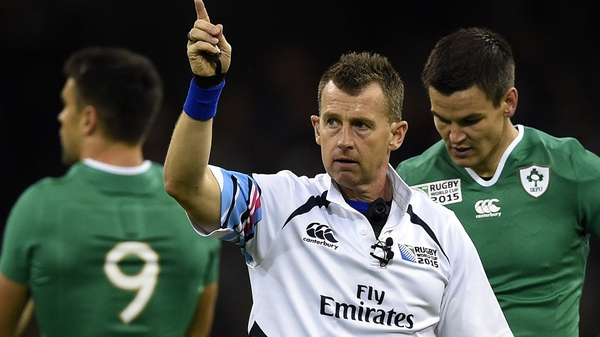 Nigel Owens: 'I would like to thank World Rugby and the Welsh Rugby Union for their support over many years'
