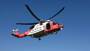 The man was flown to Drogheda where Rescue 116 was met by the Irish Coast Guard Drogheda unit (File pic)