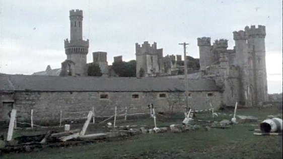 Kilkea Castle in Kildare 1980