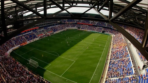 The Red Bull Arena in New Jersey will host the Aviva Premiership clash of London Irish and Saracens